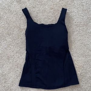 lululemon Black Crossback Tank too